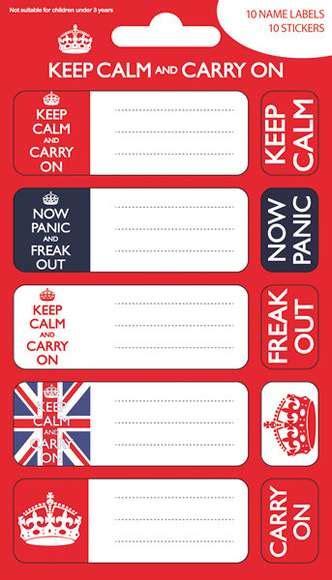 Sticker Mit Namen Bestellen by Keep Calm Namen Aufkleber