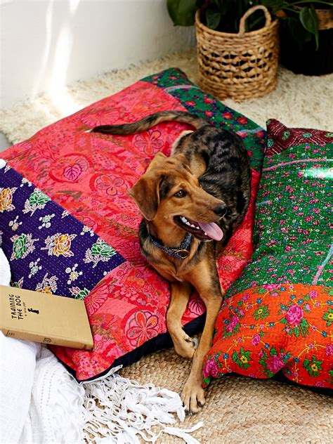 free people bedding fp one fp one quilted dog bed at free people clothing boutique