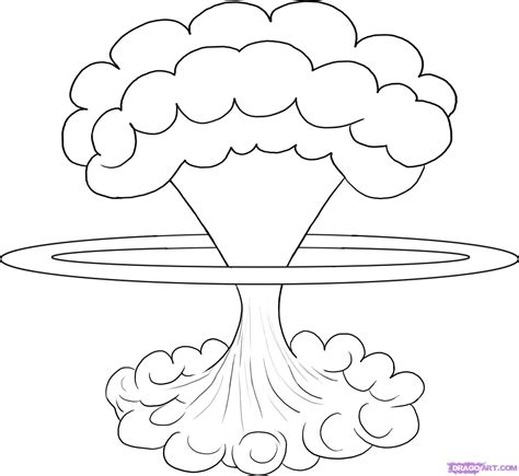 how to draw a mushroom cloud step by step tattoos pop