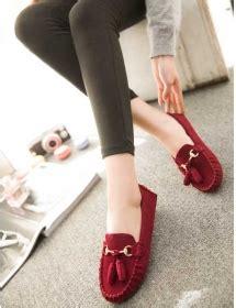 Sepatu Flat Shoes Slip On Suede Bludru Mutiara Black 0112 jual sandal sepatu wanita flat branded import