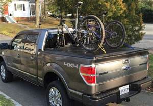 Tonneau Cover Bike Rack F150 Truck Covers Usa Tonneau Or Other Bike Rack Options