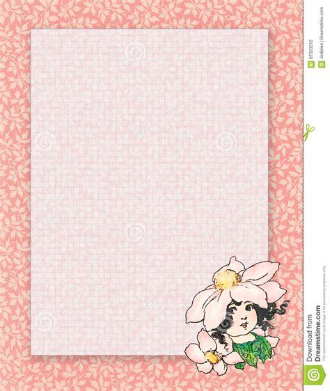 printable fairy stationary printable vintage shabby chic style flower fairy