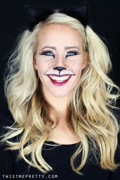 easy kitty cat  leopard makeup tutorial twist  pretty