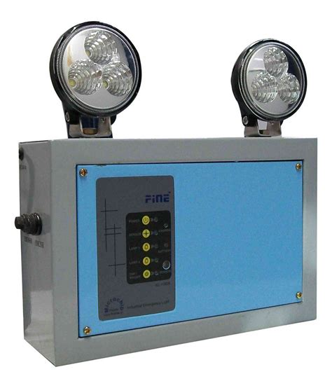 light fines industrial emergency light led emergency light