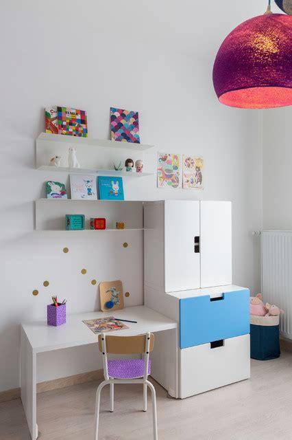 chambre d enfant bleu chambre fille bleu indigo contemporain