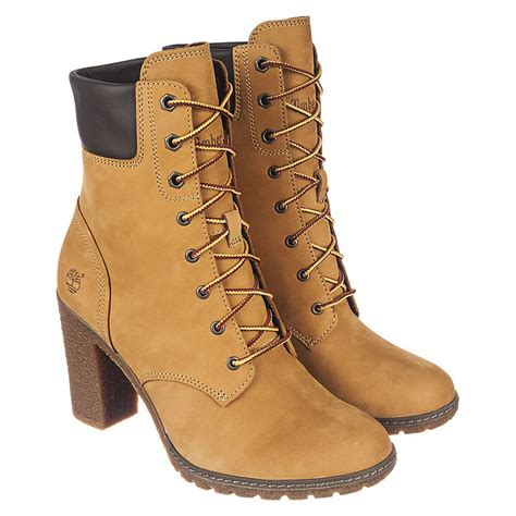 timberland boots for womens high heels timberland glancy 6 in s low heel ankle boots