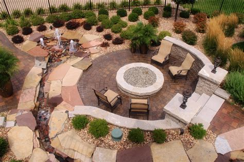 Landscaping Ideas For Fire Pits Backyard Pit
