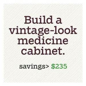 diy recessed medicine cabinet build your own vintage look medicine cabinet 30 and
