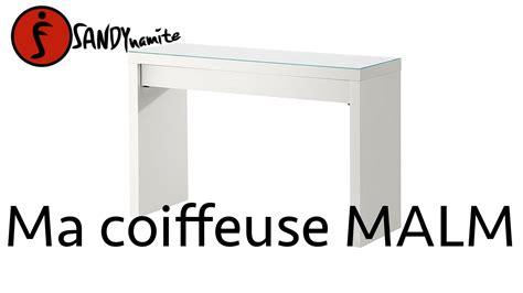 Console Coiffeuse Ikea by Ma Coiffeuse Malm De Chez Ikea