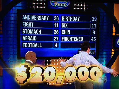 Family Feud Fast Money Win - flammia family s last family feud today
