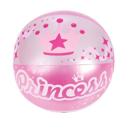 princess beach ball inflatable  cost blow  sports toy