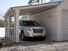 Carport Attached To Garage garage carport plans free