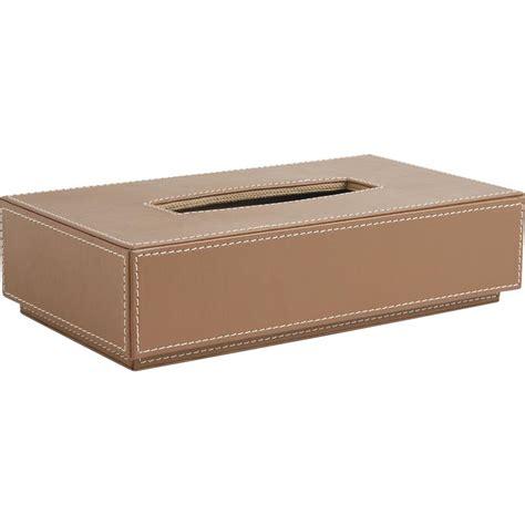 porte revu 2407 boite 224 mouchoirs en simili cuir classique