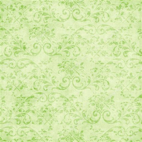 green vintage vintage pale green floral tapestry stock photo