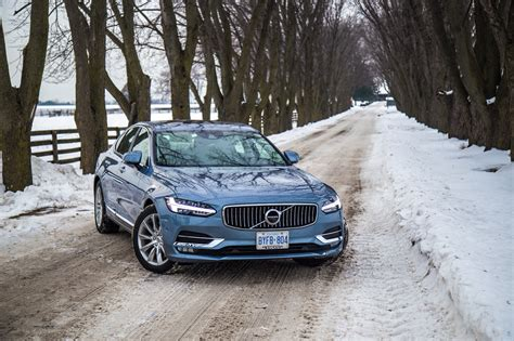 volvo canada review 2017 volvo s90 t6 awd inscription canadian auto