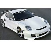 RACING Windshield Flag Decal Stickers Sport Car Sticker