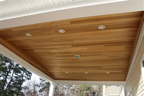 Wooden Plank Ceiling Lights