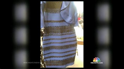 Baju White Gold Or Blue Black the science the black and blue or white and gold dress nbc news