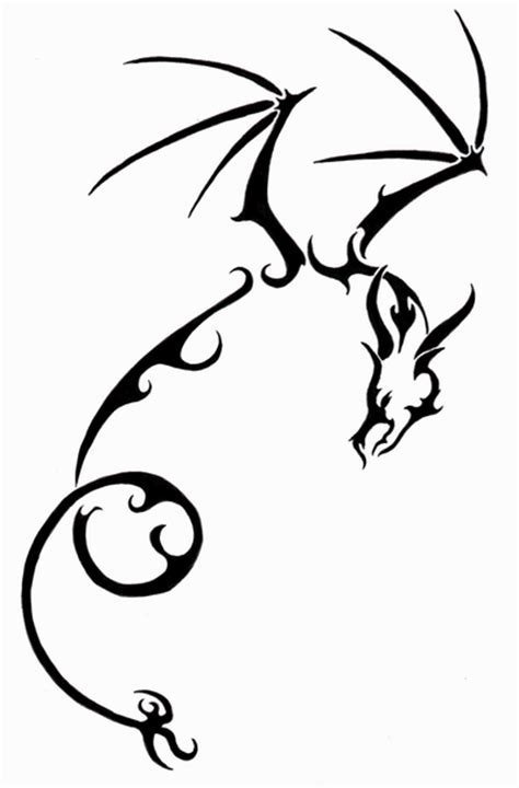 easy tattoo of dragon simple dragon designs www imgkid com the image kid has it