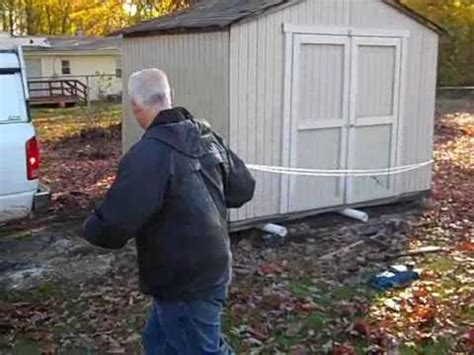 Moving A Small Shed how to move a shed do it yourself