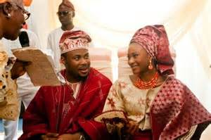 The clothing yoruba clothing is very beautiful and colorful you can