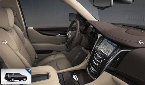 Cadillac Escalade 2015 Interior by 2015 Cadillac Escalade Gets 7 Exterior Colors 3 Interior