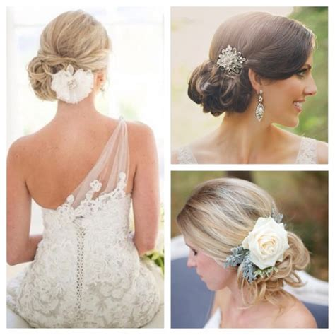 Wedding Hairstyles With Side Buns by Wedding Hairstyles Side Bun With Veil Www Pixshark