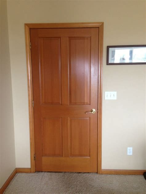 Restaining Wood Trim | restaining wood doors and trim throughout home