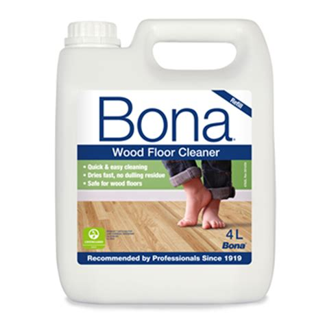 bona wood floor cleaner refill 4 litre wm7401119011