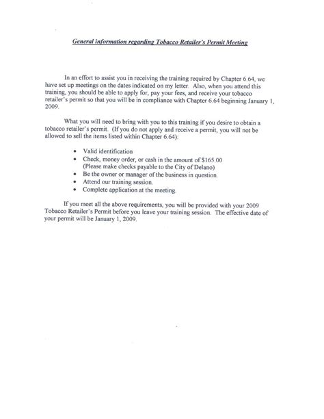 Zoning Officer Cover Letter by Delano Ca Official Website Tobacco Ordinance