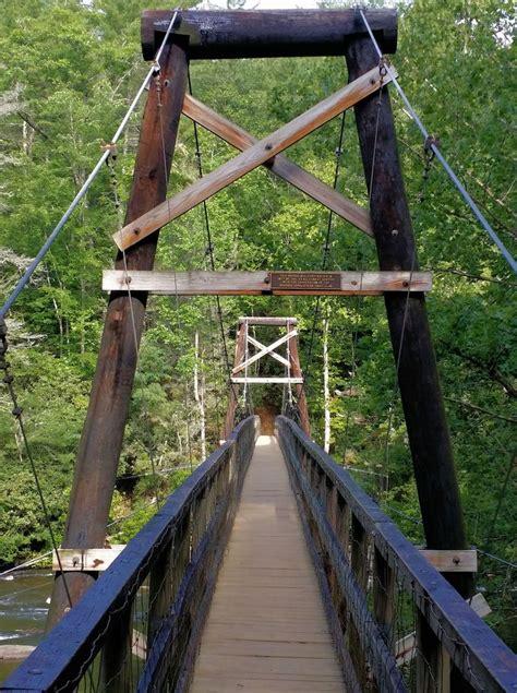 swinging bridge over toccoa river swinging bridge over the toccoa river this is where the
