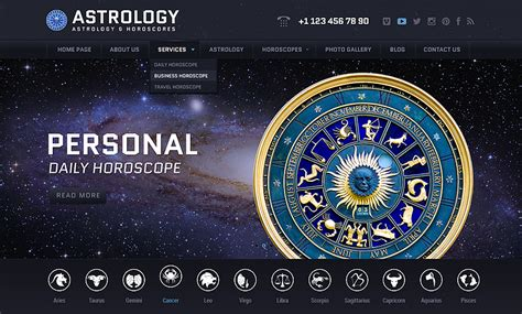 templates for astrology website astrology wordpress template id 300111843 from