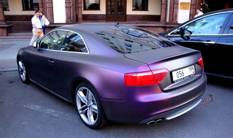 Mat Forum by Audi S5 Fioletowy Mat 1 131