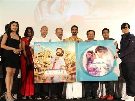 dhanush s anegan audio launch photos