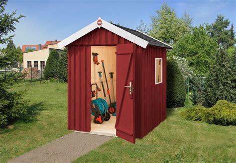 Gartenhaus Schwedenrot