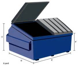 Tall Trash Can dumpsters of america dumpster types amp sizes