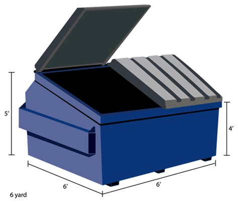 Cubic Yard Dumpsters Of America Dumpster Types Sizes