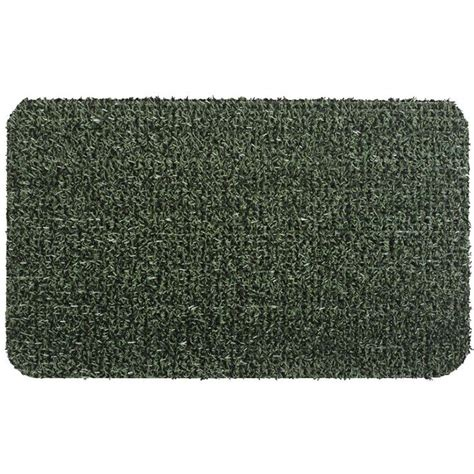 clean machine flair evergreen 24 in x 36 in door mat