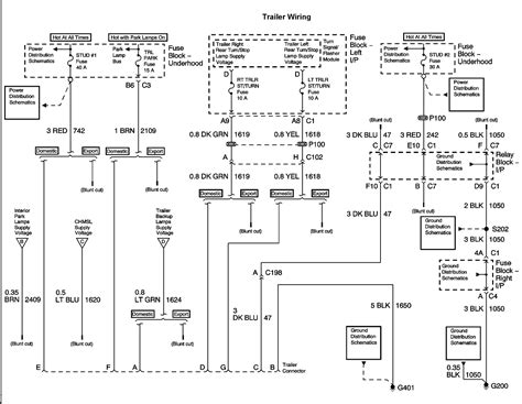 2003 avalanche wiring diagram i a 2003 avalanche with a factory installed hitch and 7 pin after visiting u haul to