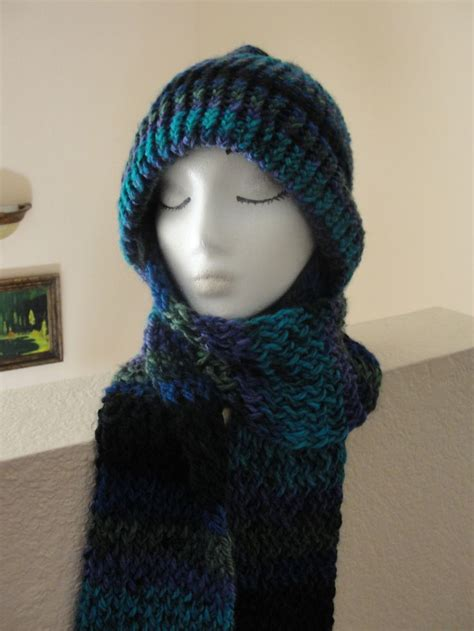 knitting patterns hat scarf combination 8 best hat scarf combo s images on pinterest scarfs