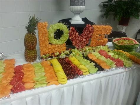 fruit table for wedding reception fruit display for wedding reception event decor
