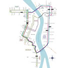 Portland Tram Map by Trip Tools Portland Streetcar