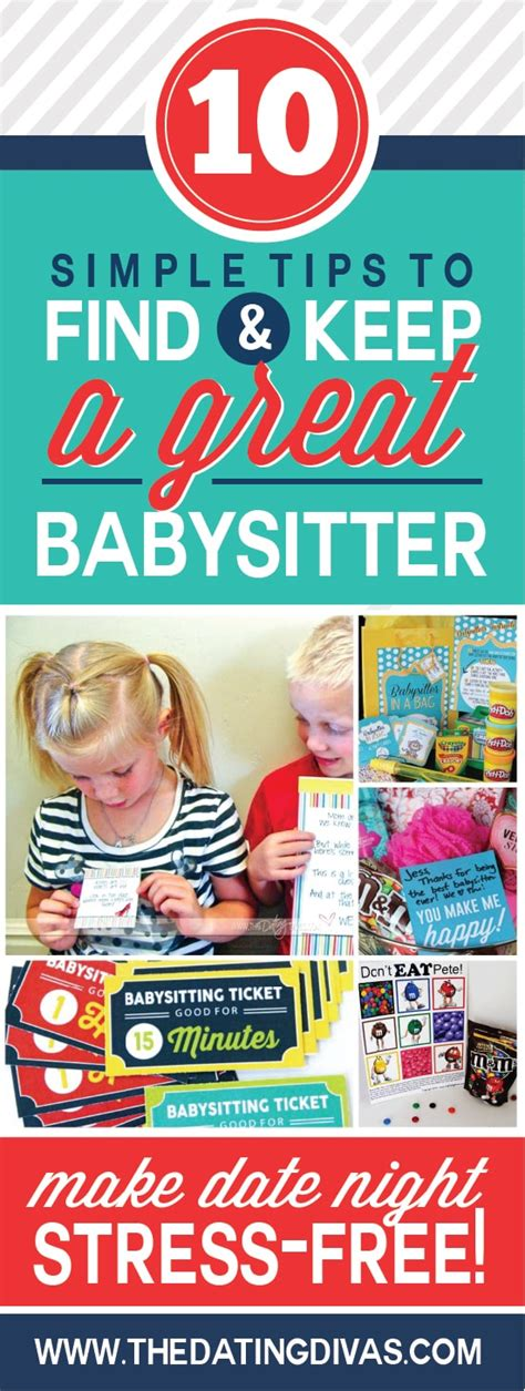8 Great Babysitting Tips by 10 Tips To Find And Keep A Great