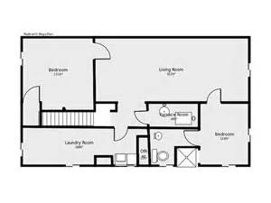 basement home floor plans basement floor plan flip flop stairs and furnace room