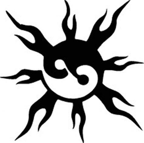 tag adhesive stencil ying yang sun glitter tattoos