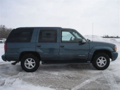 how to work on cars 1999 gmc yukon seat position control purchase used 1999 gmc yukon denali 4x4 sport utility 4 door 5 7l 136k miles in fort atkinson