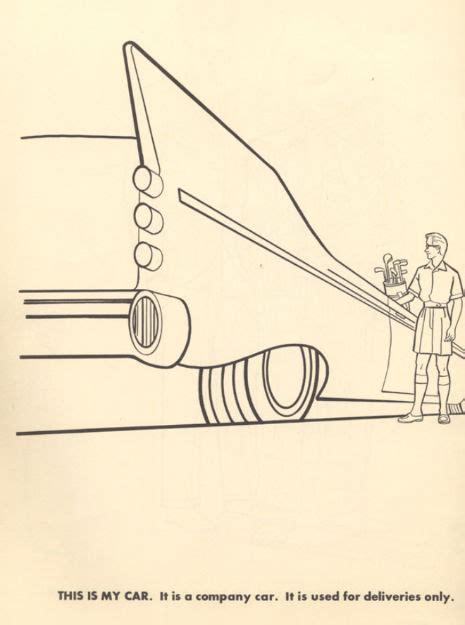 coloring book for executives the executive colouring book 1961 edition the poke