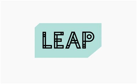 leap design leap siotes design typography and illustration by