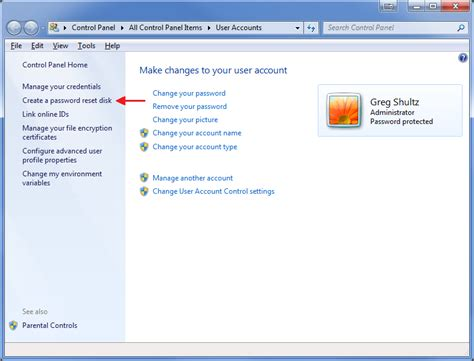 windows reset password disk usb how to create and use windows 7 password reset disk