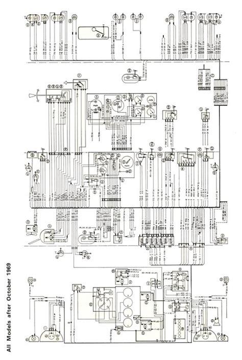 mk1 escort super wiring diagram full set post 1969 ebay